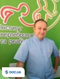 Врач Травматолог, Ортопед, Вертебролог Переденко Алексей Михайлович на Doc.ua